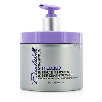 Keratin Complex Blondeshell Masque (Debrass & Brighten Tratamiento Profundo)  550ml/18.6oz