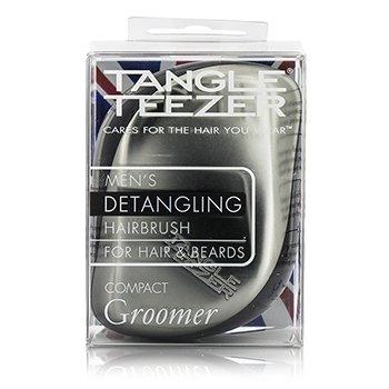 タングルティーザー Compact Styler Mens' Compact Groomer Detangling Hair Brush (For Hair & Beards)  1pc