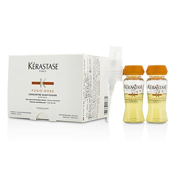 Kerastase Fusio-Dose Concentre Oleo-Fusion Nutri-Huile Intensive Nourishing Care (Very Dry Hair)  10x12ml/0.4oz