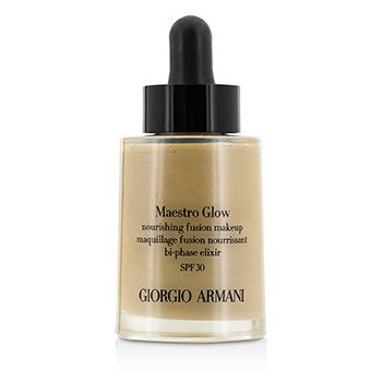 Giorgio Armani Maestro Glow Nourishing Fusion Maquillaje SPF 30 - #4  30ml/1oz