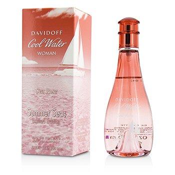 Davidoff Cool Water Sea Rose Summer Seas Eau De Toilette Spray (Edición Limitada)  100ml/3.4oz