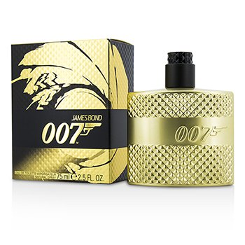 ジェームスボンド 007 Eau De Toilette Spray (Limited Edition Gold)  75ml/2.5oz