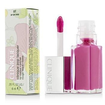 Clinique Pop Lacquer Lip Colour + Primer  - # 07 Go-Go Pop  6ml/0.2oz