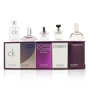 Calvin Klein Miniature Coffret: CK One + Downtown + Eternity + Euphoria + Endless Euphoria  5pcs