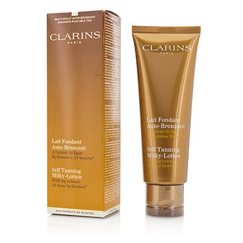 Clarins Self Tanning Milky-Lotion  125ml/4.2oz