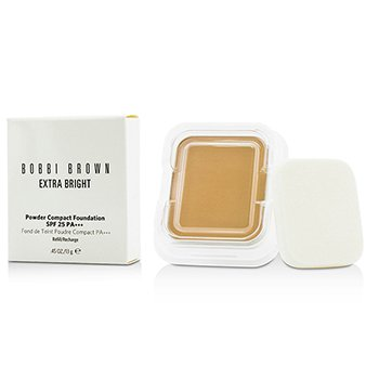 Bobbi Brown Extra Bright Powder Compact Foundation SPF 25 Refill - #3.5 Warm Beige  13g/0.45oz