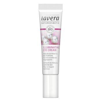 Lavera Crema Iluminadora Ojos Cafeina & Extracto de Perla Orgánico  15ml/0.5oz
