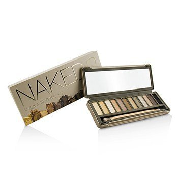 Urban Decay Naked 2 Eyeshadow Palette: 12x Eyeshadow, 1x Doubled Ended Shadow/Blending Brush