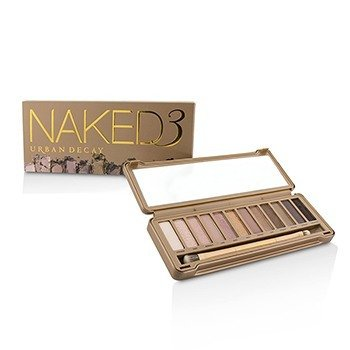 אורבן דיקיי Naked 3 פלטת צלליות: 12x Eyeshadow, 1x Doubled Ended Shadow/Blending Brush