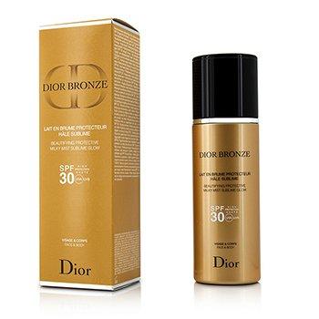 Christian Dior Dior Bronze Совершенствующее Защитное Молочко Спрей с Нежным Сиянием SPF 30 для Лица и Тела  125ml/4.2oz