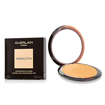 Guerlain Terracotta The Bronzing Powder (Natural & Long Lasting Tan) - No. 07 Deep Golden  10g/0.35oz