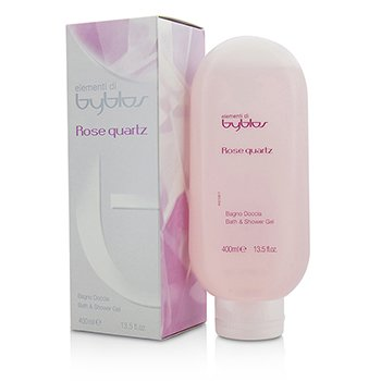 ビブロス Rose Quartz Bath & Shower Gel  400ml/13.5oz