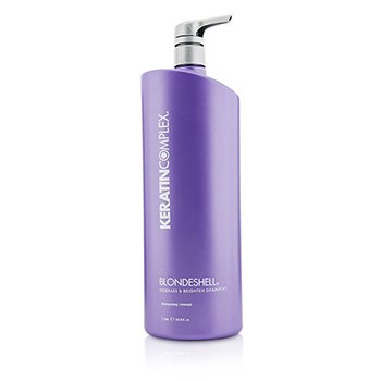 Keratin Complex Blondeshell Debrass & Brighten Shampoo (MFR: APR 2014)  1000ml/33.8oz