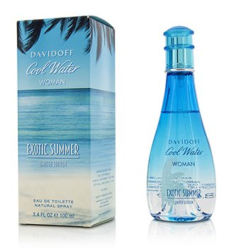 Davidoff Cool Water Exotic Summer Eau De Toilette Spray (Edición Limitada)  100ml/3.4oz