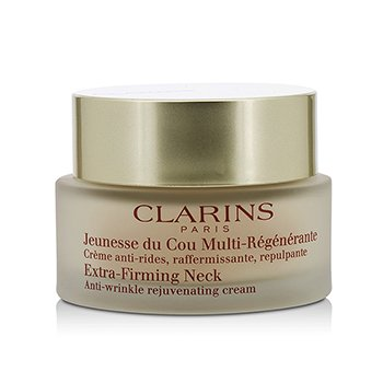 Clarins Extra-Firming Neck Anti-Wrinkle Rejuvenating Cream (Unboxed)  50ml/1.7oz