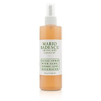 Mario Badescu Woda to twarzy Facial Spray with Aloe, Herbs & Rosewater - do każdego rodzaju skóry   236ml/8oz