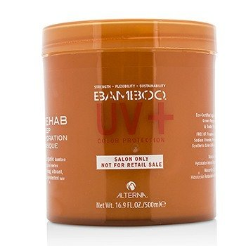 Alterna Bamboo Color Hold+ Color Protection Rehab Deep Hydration Masque (For Strong, Vibrant, Color Protected Hair)  500ml/16.9oz