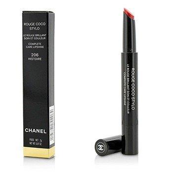 Chanel Rouge Coco Stylo Complete Care Lipshine - # 206 Histoire  2g/0.07oz