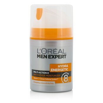 L'Oreal Krem do twarzy na dzień Men Expert Hydra Energetic Multi-Action 8 Anti-Fatigue Moisturizer  50ml/1.7oz