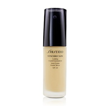 Shiseido Synchro Skin Lasting Liquid Foundation SPF 20 - Golden 2  30ml/1oz