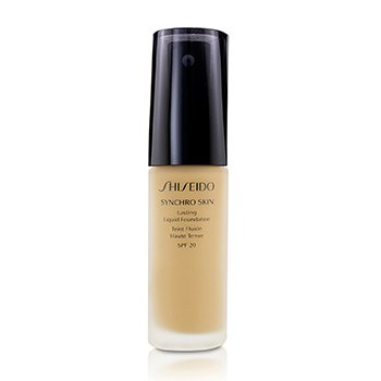 Shiseido Synchro Skin Lasting Liquid Foundation SPF 20 - Neutral 4  30ml/1oz