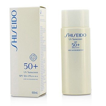 Shiseido UV Sunscreen SPF 50+ PA++++  60ml/2oz