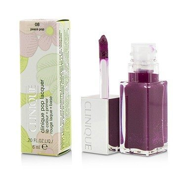Clinique Pop Lacquer Lip Colour + Primer  - # 08 Peace Pop  6ml/0.2oz