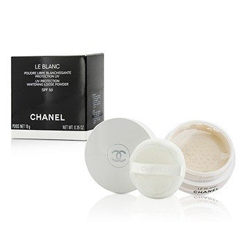 Chanel Rozjaśniający puder sypki Le Blanc UV Protection Whitening Loose Powder SPF 50  10g/0.35oz