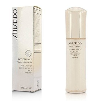 Shiseido Benefiance WrinkleResist24 Day Emulsion SPF 18  75ml/2.5oz