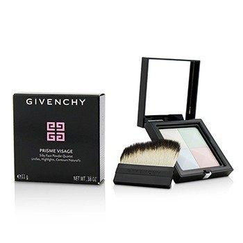 ジバンシィ Prisme Visage Silky Face Powder Quartet - # 1 Mousseline Pastel  11g/0.38oz