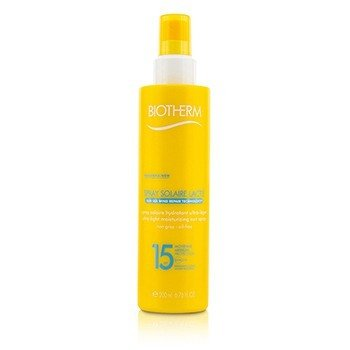 Biotherm Spray Solaire Lacte Ultra-Light Moisturizing Sun Spray SPF 15  200ml/6.76oz
