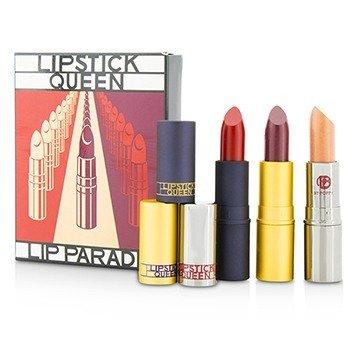 リップスティック クィーン The Lip Parade Set (1x Saint Lipstick, 1x Sinner Lipstick, 1x The Metal Lipstick)  3pcs