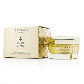 Guerlain Abeille Royale Crema de Día Rica - Reafirmante, Minimizante de Arrugas, Radiante  50ml/1.6oz