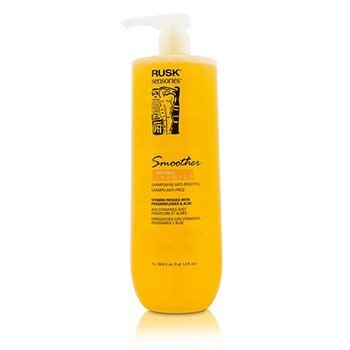 Rusk Sensories Smoother Champú Sin Enjuague Anti Frizz de Pasionaria & Áloe  1000ml/33.8oz