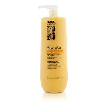 Rusk Sensories Smoother Acondicionador Sin Enjuague Anti Frizz de Pasionaria & Áloe  958g/33.8oz