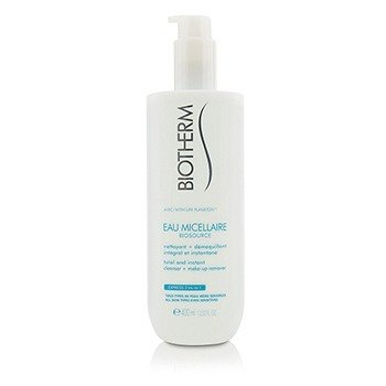 Biotherm Płyn do demakijażu dla każdego rodzaju skóry Biosource Eau Micellaire Total & Instant Cleanser + Make-Up Remover - For All Skin Types  400ml/13.52oz