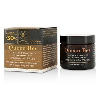 Apivita Queen Bee Firming & Restoring Day Cream SPF 15  50ml/1.76oz