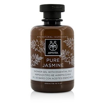 Apivita Pure Jasmine Shower Gel With Essential Oils  300ml/10.14oz