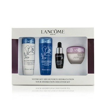 Lancome Hydra Zen Coffret Starter Kit: Tonique Douceur 50ml + Galateis Douceur 50ml + Moisturising Cream 15ml + Concentrate 7ml  4pcs