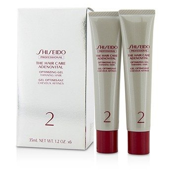 Shiseido The Hair Care Adenovital Optimizing Gel (Thinning Hair)  6x35ml/1.2oz