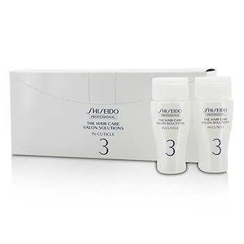 Shiseido The Hair Care Salon Solutions In-Cuticle (Hair Surface Repair)  12x15ml/0.5oz