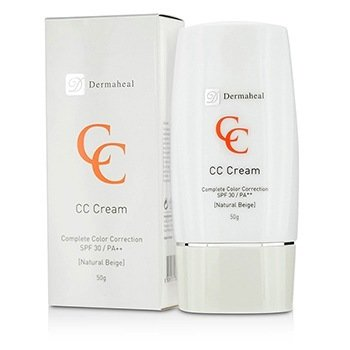 Dermaheal CC Cream SPF30 - Natural Beige (Exp. Date 03/2017)  50g/1.7oz