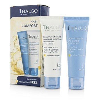 タルゴ Ideal Comfort Kit: Delicious Comfort Cream 50ml + Melt-Away Mask 50ml  2pcs
