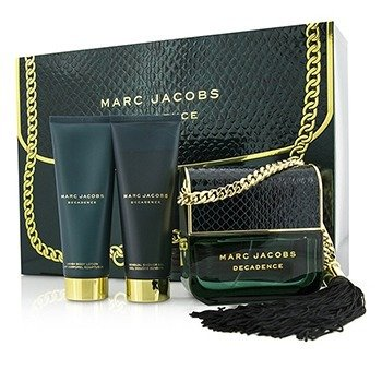 Marc Jacobs Decadence Coffret: Eau De Parfum Spray 100ml/3.4oz + Body Lotion 75ml/2.5oz + Shower Gel 75ml/2.5oz  3pcs