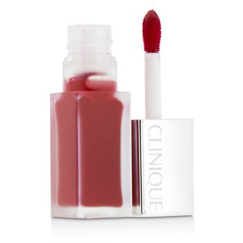 Clinique Pop Liquid Color de Labios Mate + Primer - # 02 Flame Pop  6ml/0.2oz