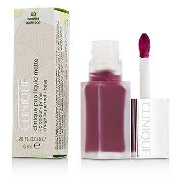 Clinique Pop Liquid Matte Lip Colour + Primer - # 03 Candied Apple Pop  6ml/0.2oz