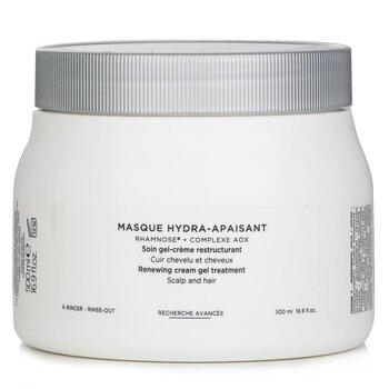 Kerastase Specifique Masque Hydra-Apaisant Tratamiento Crema Gel Renovador (Cuero Cabelludo y Cabello)  500ml/16.9oz