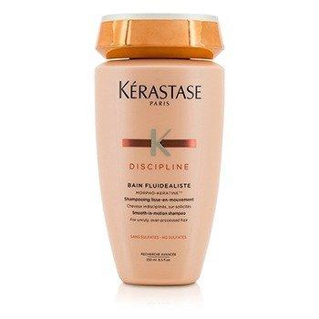 เคเรสตาส Discipline Bain Fluidealiste Smooth-In-Motion Sulfate Free Shampoo - For Unruly, Over-Processed Hair (New Packaging)  250ml/8.5oz