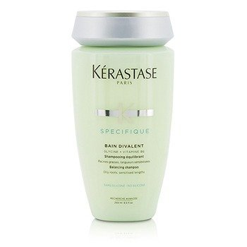 Kerastase Specifique Bain Divalent Balancing Shampoo (Oily Roots, Sensitised Lengths)  250ml/8.5oz