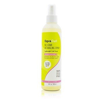 DevaCurl No-Comb Detangling Spray (Lightweight Curl Tamer - Refresh & Extend)  236ml/8oz